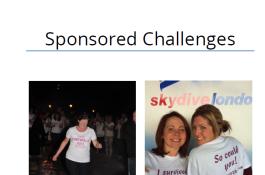 Sponsored Challenge One25