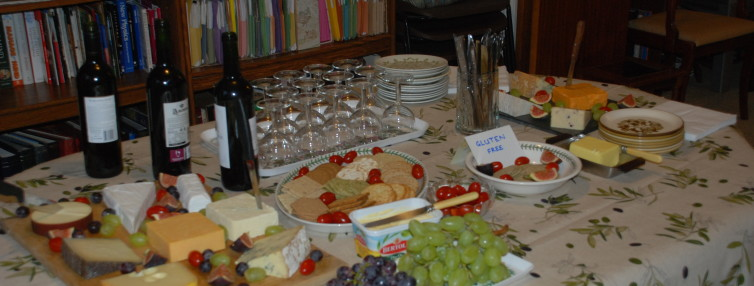Dinner4Good Cheese and Wine night