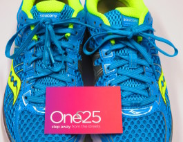 One25 running shoes