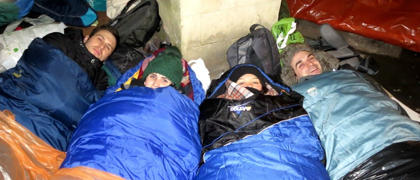 Sleepout Fundraising