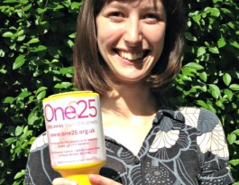One25 fundraising top tips - collection tin