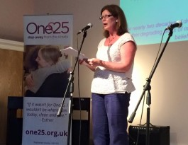 Gill One25 campaigning