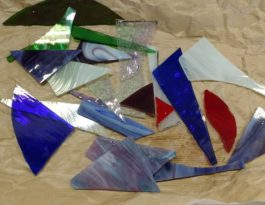 stained glass colours