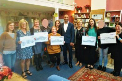 Bristol Mayor, Martin Rees and Cllr Helen Godwin visit One25
