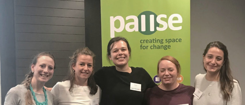 the Pause Bristol team