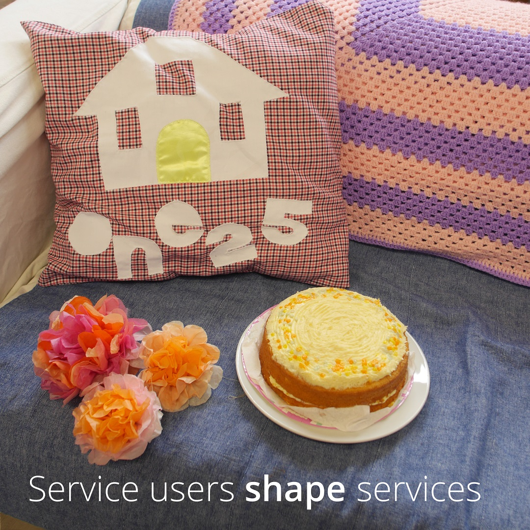 Service users shape services