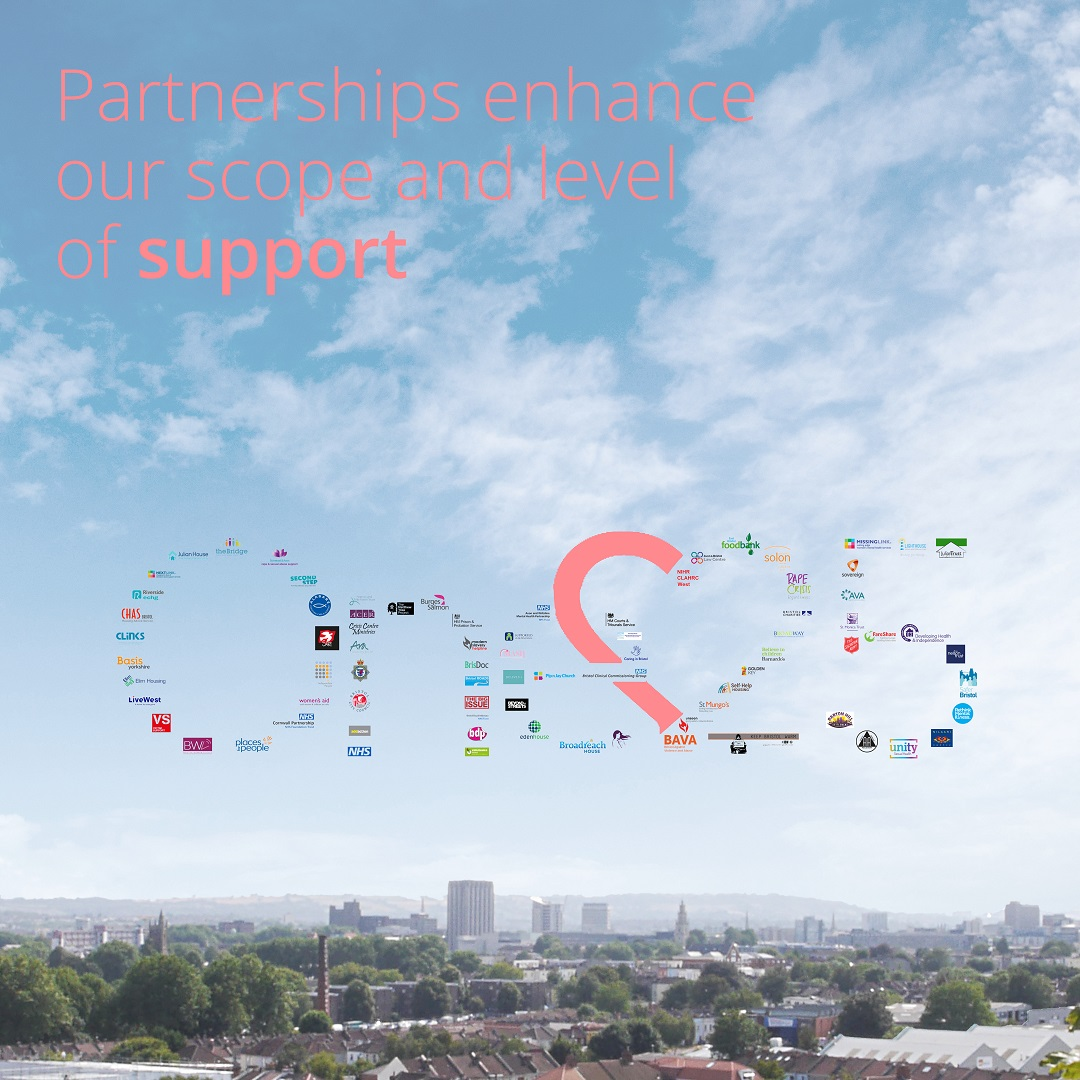Partnerships enhance our scope and level of support